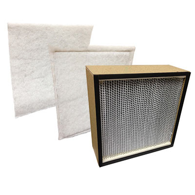 Novair 1000 Complete Replacement Filter Packs (HEPA Filter Pack)